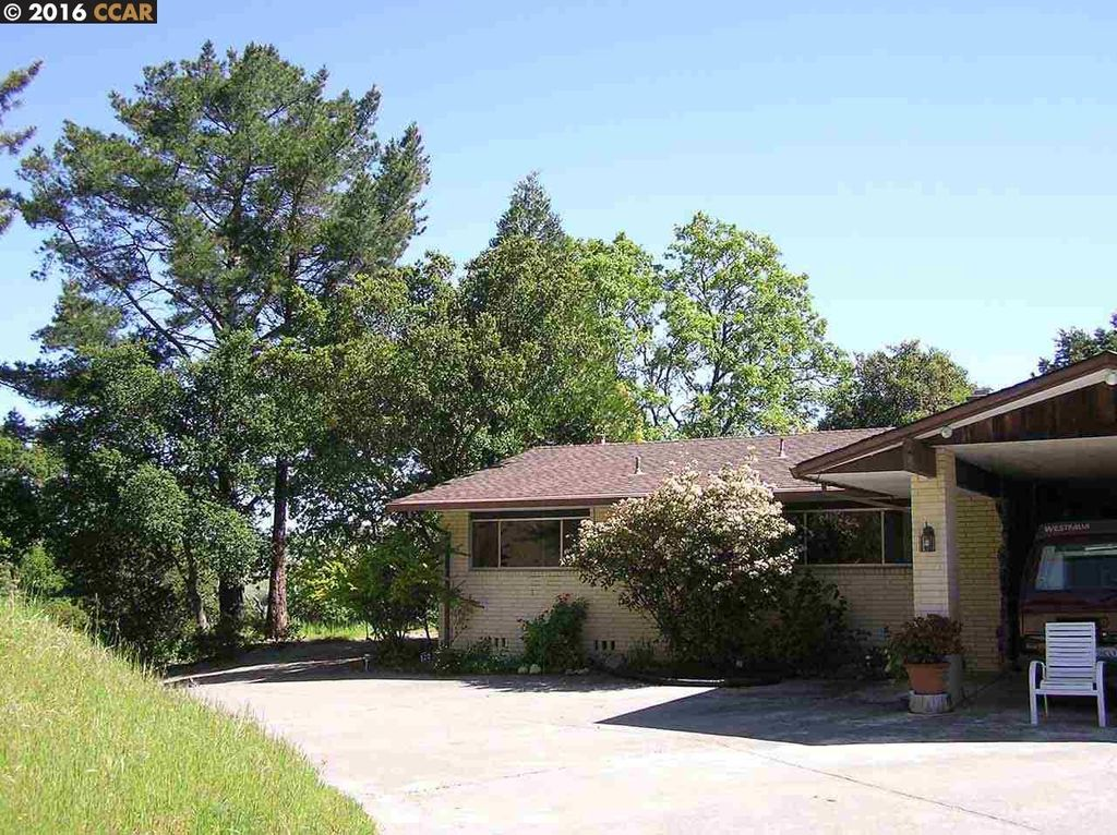 1288 Bear Creek Rd, Briones, CA 94553 -  $979,000