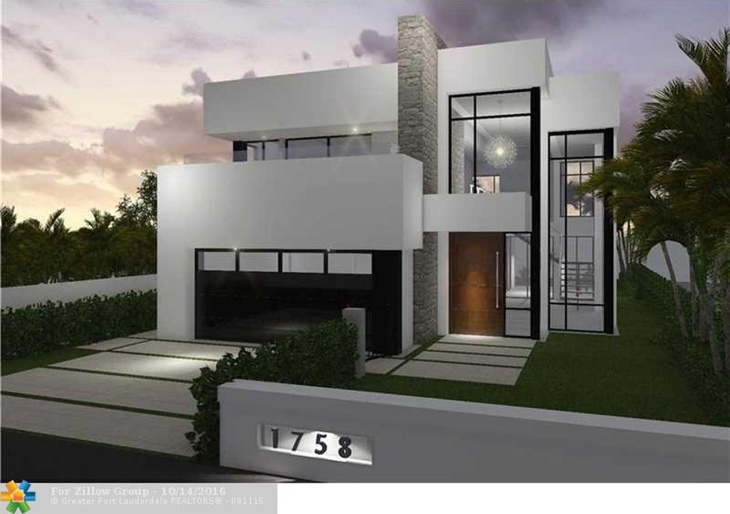 1758 NE 8th St, Fort Lauderdale, FL 33304 -  $1,099,000