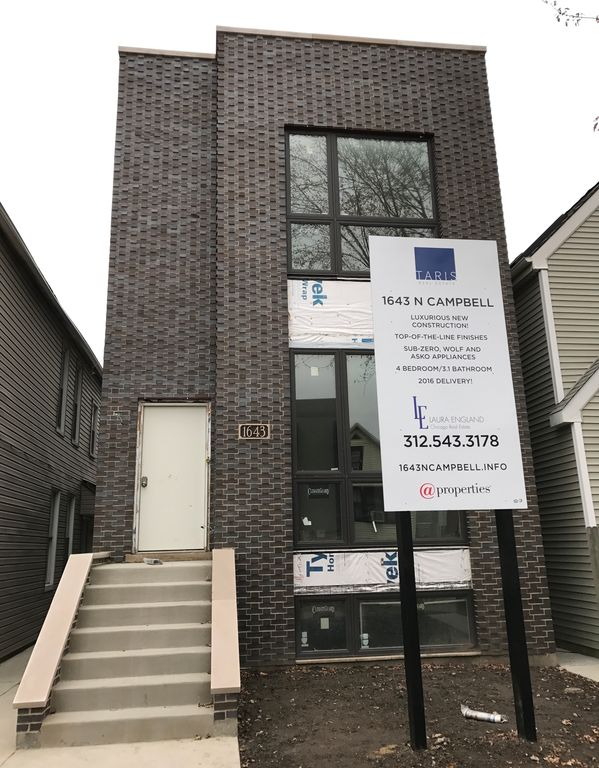 1643 N Campbell Ave, Chicago, IL 60647 -  $1,125,000 home for sale, house images, photos and pics gallery