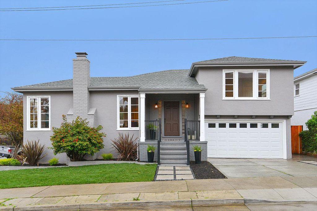 3601 Hacienda St, San Mateo, CA 94403 -  $1,698,000