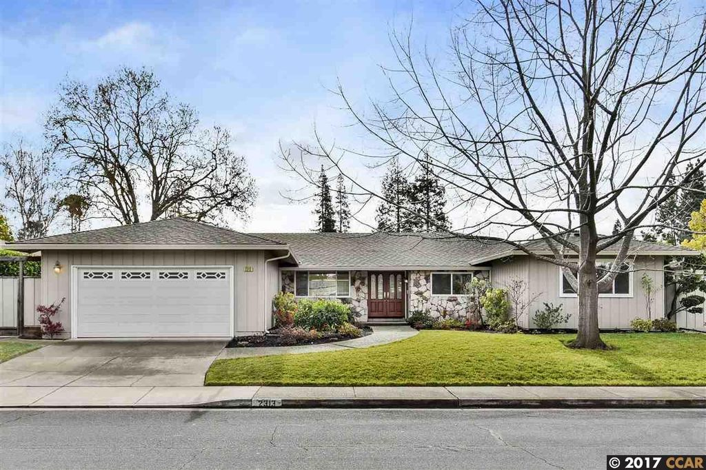 2313 Belford Dr, Walnut Creek, CA 94598 -  $1,095,000