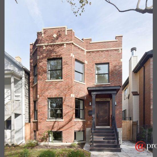 2424 W Belle Plaine Ave, Chicago, IL 60618 -  $1,099,000