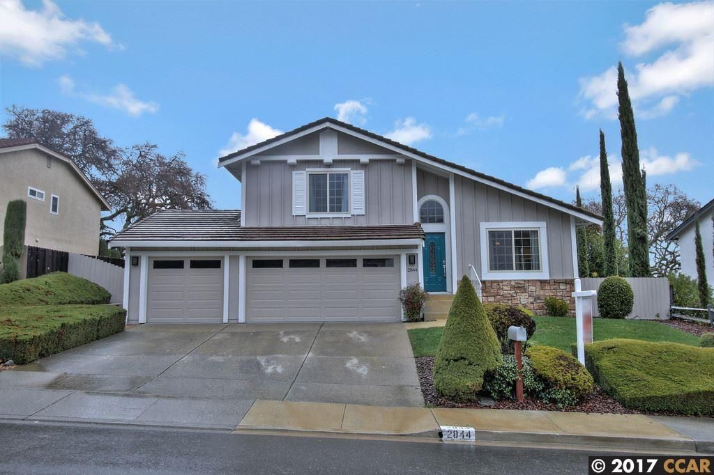 2844 Morgan Dr, San Ramon, CA 94583 -  $1,069,950
