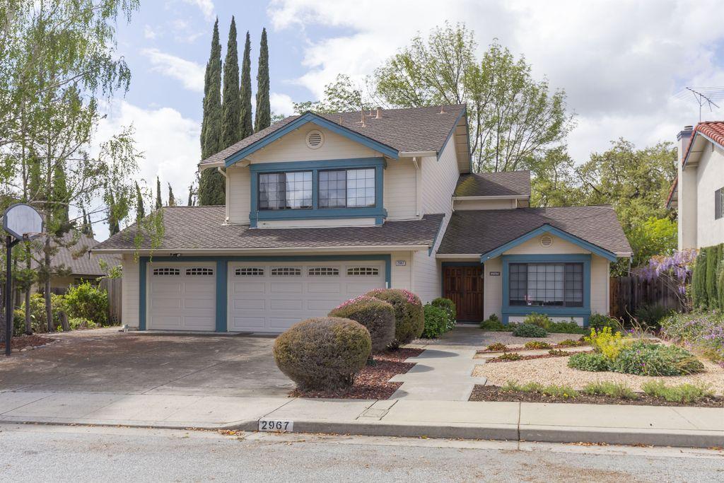 2967 Densmore Dr, San Jose, CA 95148 -  $1,048,000