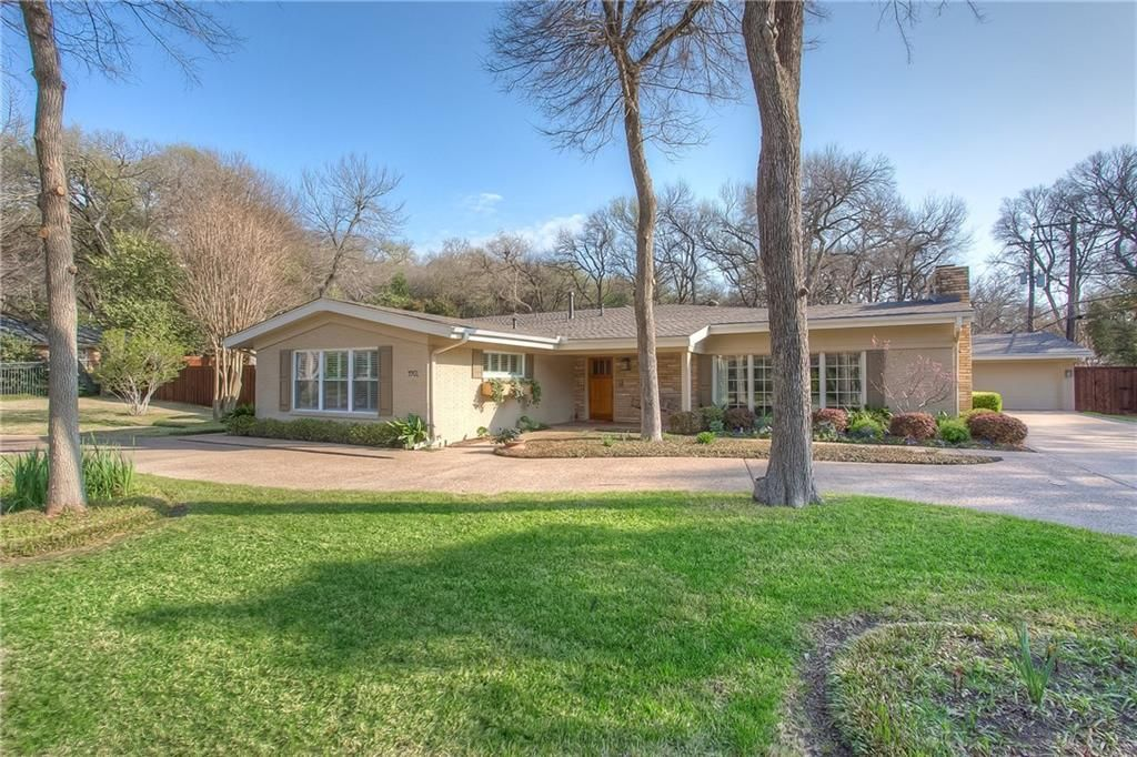 3901 Harlanwood Dr, Fort Worth, TX 76109 -  $1,050,000