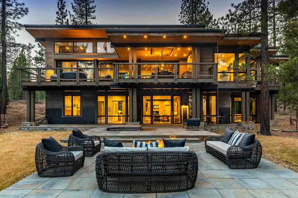 8625 Benvenuto Ct Truckee, CA 96161 - $8,395,000 home for sale, house images, photos and pics gallery