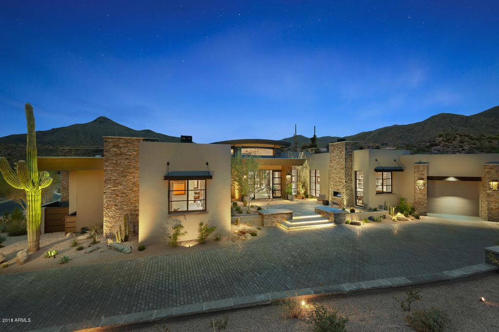9716 E Mariola Way Scottsdale, AZ 85262 - $5,255,000 home for sale, house images, photos and pics gallery
