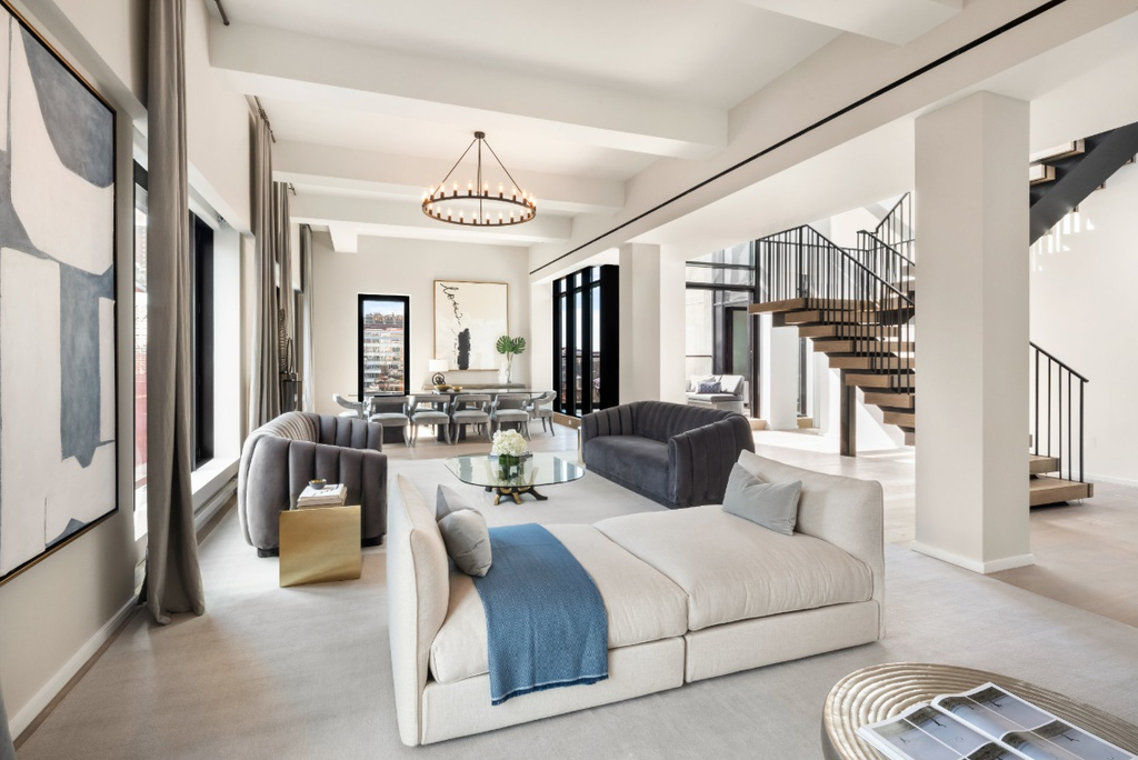 PH B Plan, 11 Beach New York, NY 10013 - $19,950,000 home for sale, house images, photos and pics gallery