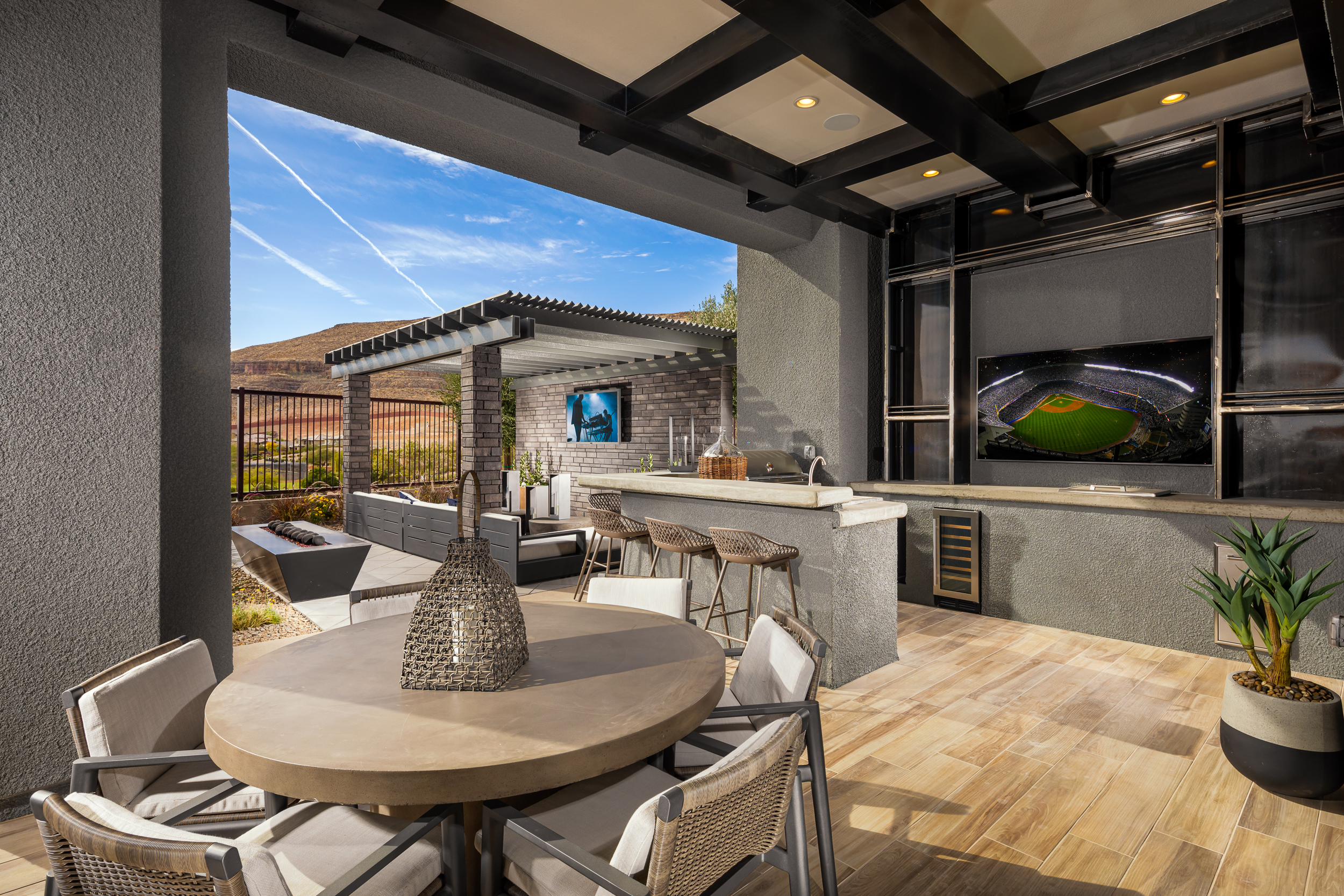 10759 Patina Hills Ct Las Vegas Nevada – Spring Mid-Century Modern Model home for sale, house images, photos and pics gallery